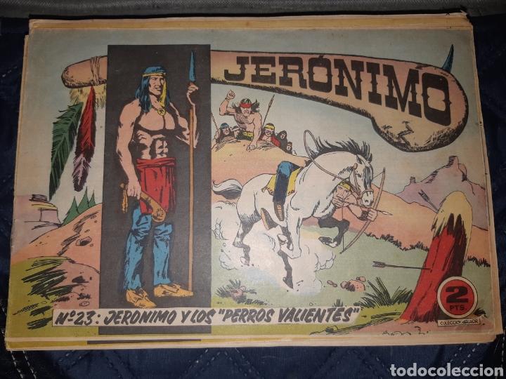 Tebeos: TEBEOS-COMICS GOYO - JERÓNIMO COMPLETA - GALAOR ORIGINAL - INCLUYE EL 66 NO PUBLICADO - AA99 - Foto 24 - 237740160