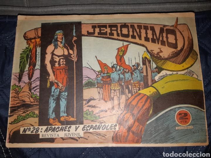 Tebeos: TEBEOS-COMICS GOYO - JERÓNIMO COMPLETA - GALAOR ORIGINAL - INCLUYE EL 66 NO PUBLICADO - AA99 - Foto 29 - 237740160