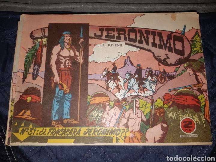 Tebeos: TEBEOS-COMICS GOYO - JERÓNIMO COMPLETA - GALAOR ORIGINAL - INCLUYE EL 66 NO PUBLICADO - AA99 - Foto 32 - 237740160