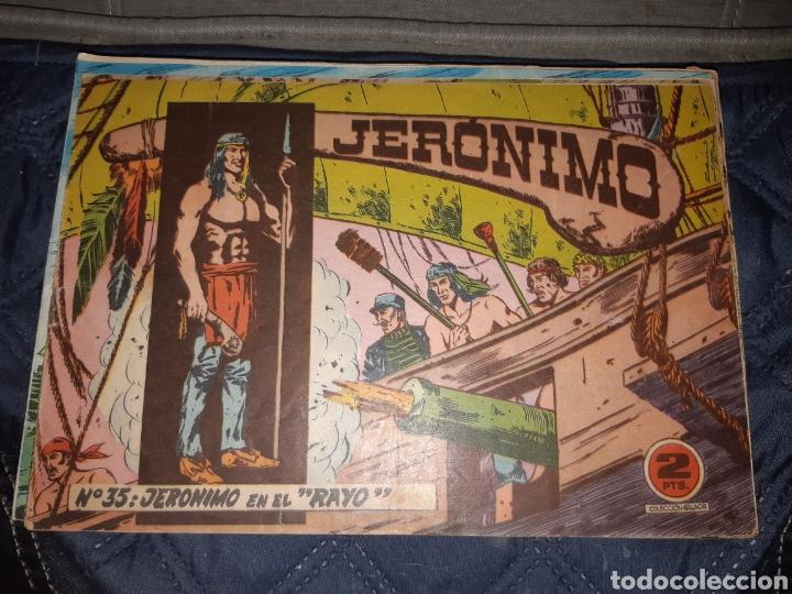 Tebeos: TEBEOS-COMICS GOYO - JERÓNIMO COMPLETA - GALAOR ORIGINAL - INCLUYE EL 66 NO PUBLICADO - AA99 - Foto 36 - 237740160