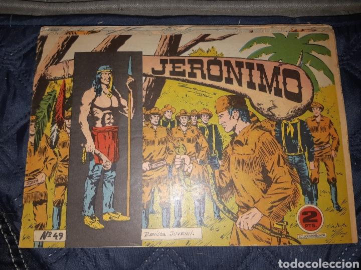 Tebeos: TEBEOS-COMICS GOYO - JERÓNIMO COMPLETA - GALAOR ORIGINAL - INCLUYE EL 66 NO PUBLICADO - AA99 - Foto 51 - 237740160