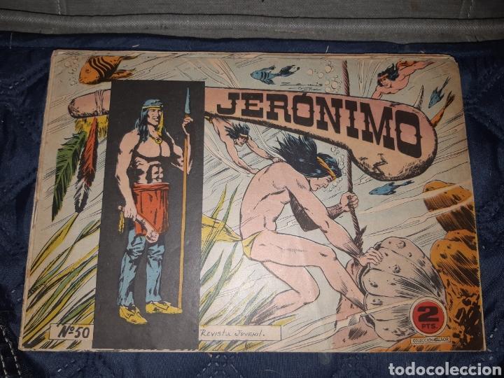 Tebeos: TEBEOS-COMICS GOYO - JERÓNIMO COMPLETA - GALAOR ORIGINAL - INCLUYE EL 66 NO PUBLICADO - AA99 - Foto 52 - 237740160