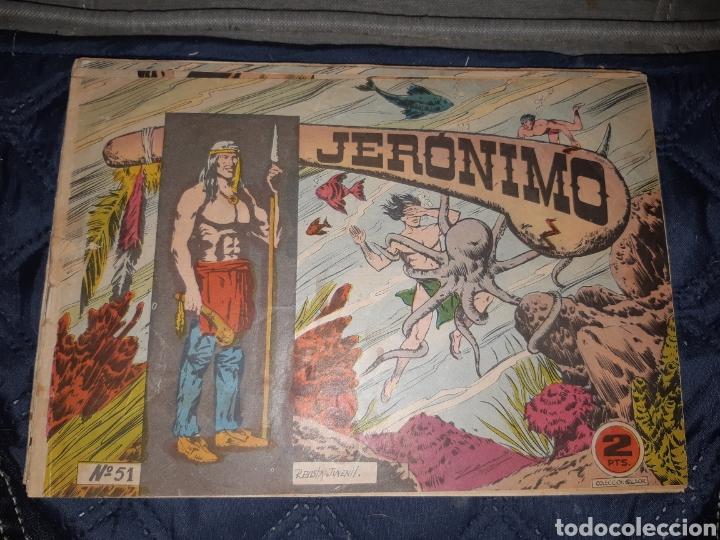 Tebeos: TEBEOS-COMICS GOYO - JERÓNIMO COMPLETA - GALAOR ORIGINAL - INCLUYE EL 66 NO PUBLICADO - AA99 - Foto 53 - 237740160