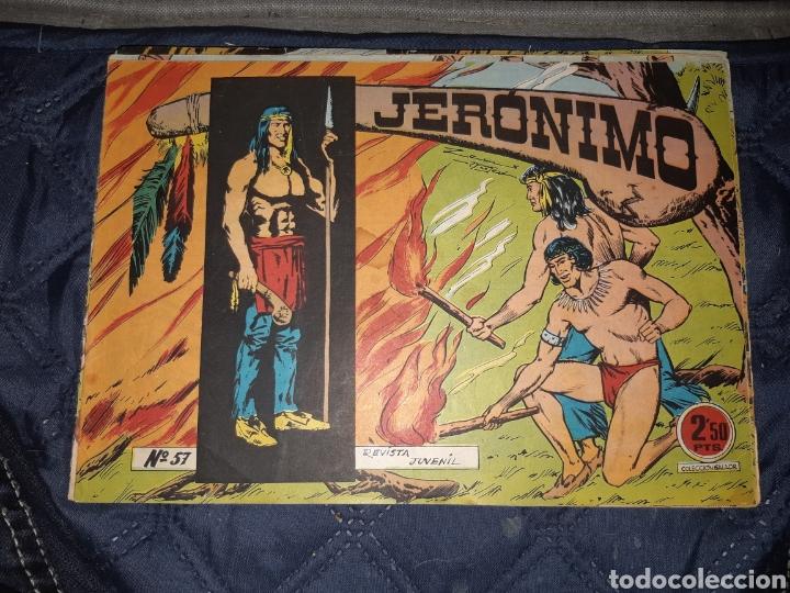 Tebeos: TEBEOS-COMICS GOYO - JERÓNIMO COMPLETA - GALAOR ORIGINAL - INCLUYE EL 66 NO PUBLICADO - AA99 - Foto 59 - 237740160