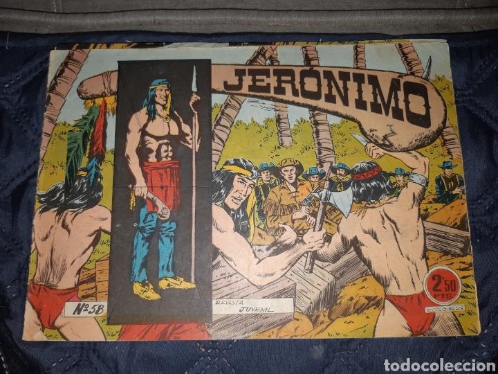 Tebeos: TEBEOS-COMICS GOYO - JERÓNIMO COMPLETA - GALAOR ORIGINAL - INCLUYE EL 66 NO PUBLICADO - AA99 - Foto 60 - 237740160