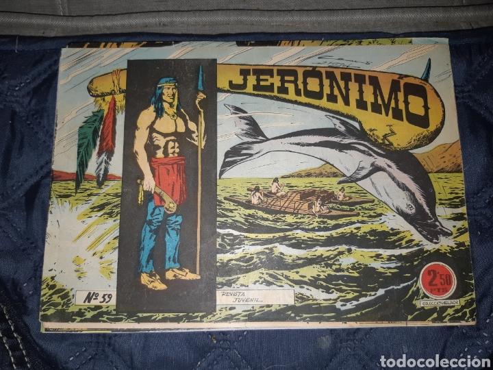 Tebeos: TEBEOS-COMICS GOYO - JERÓNIMO COMPLETA - GALAOR ORIGINAL - INCLUYE EL 66 NO PUBLICADO - AA99 - Foto 61 - 237740160