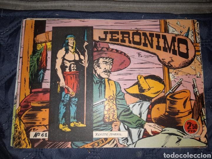 Tebeos: TEBEOS-COMICS GOYO - JERÓNIMO COMPLETA - GALAOR ORIGINAL - INCLUYE EL 66 NO PUBLICADO - AA99 - Foto 63 - 237740160