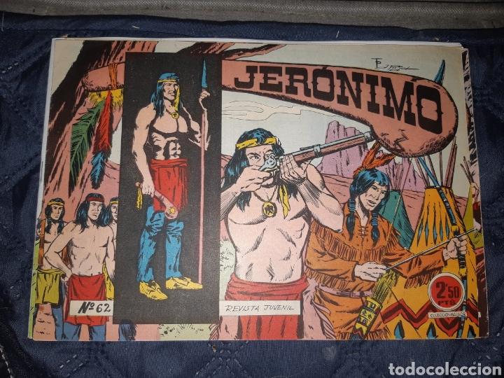 Tebeos: TEBEOS-COMICS GOYO - JERÓNIMO COMPLETA - GALAOR ORIGINAL - INCLUYE EL 66 NO PUBLICADO - AA99 - Foto 64 - 237740160