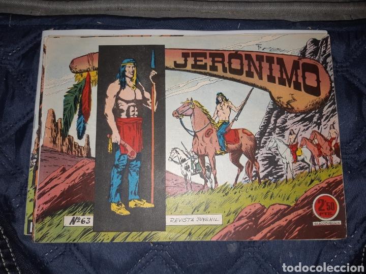 Tebeos: TEBEOS-COMICS GOYO - JERÓNIMO COMPLETA - GALAOR ORIGINAL - INCLUYE EL 66 NO PUBLICADO - AA99 - Foto 65 - 237740160