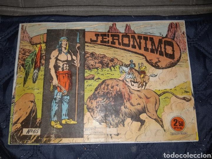 Tebeos: TEBEOS-COMICS GOYO - JERÓNIMO COMPLETA - GALAOR ORIGINAL - INCLUYE EL 66 NO PUBLICADO - AA99 - Foto 67 - 237740160