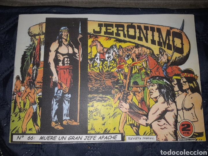 Tebeos: TEBEOS-COMICS GOYO - JERÓNIMO COMPLETA - GALAOR ORIGINAL - INCLUYE EL 66 NO PUBLICADO - AA99 - Foto 68 - 237740160