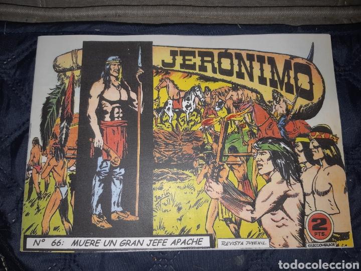 TEBEOS-COMICS GOYO - JERÓNIMO COMPLETA - GALAOR ORIGINAL - INCLUYE EL 66 NO PUBLICADO - AA99 (Tebeos y Comics - Galaor)