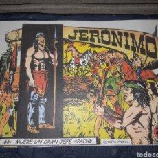 Tebeos: TEBEOS-COMICS GOYO - JERÓNIMO COMPLETA - GALAOR ORIGINAL - INCLUYE EL 66 NO PUBLICADO - AA99. Lote 237740160