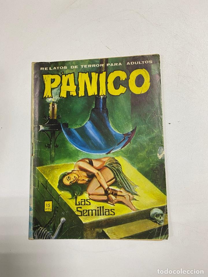 PÁNICO. LAS SEMILLAS. Nº 56. RELATOS DEL TERROR PARA ADULTOS. EDITORIAL VILMAR. (Tebeos y Comics - Galaor)