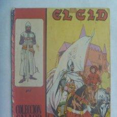 Tebeos: EL CID , Nº 1 . EDICIONES GALAOR 1966. Lote 239753950