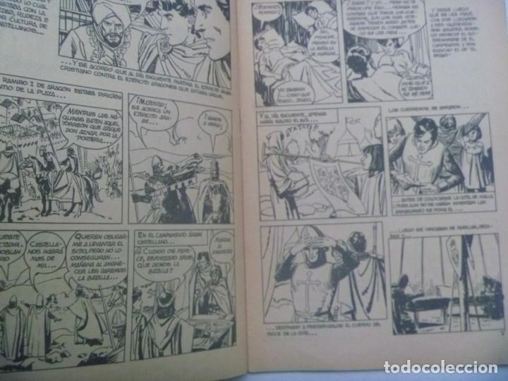 Tebeos: EL CID , Nº 5 . EDICIONES GALAOR 1966 - Foto 2 - 239952605