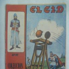 Tebeos: EL CID , Nº 10 . EDICIONES GALAOR 1966. Lote 240193605