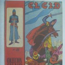 Tebeos: EL CID , Nº 18 . EDICIONES GALAOR 1966. Lote 240421310