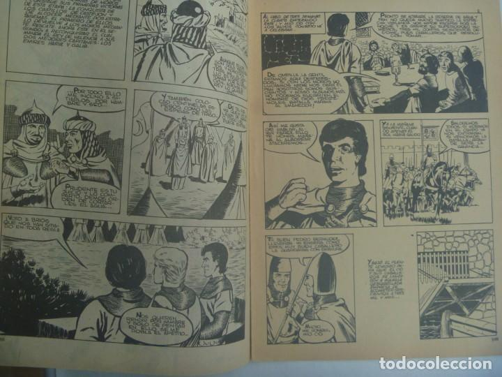 Tebeos: EL CID , Nº 18 . EDICIONES GALAOR 1966 - Foto 2 - 240421310
