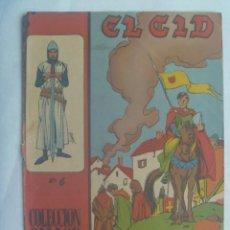 Tebeos: EL CID , Nº 6 . EDICIONES GALAOR 1966. Lote 240476555