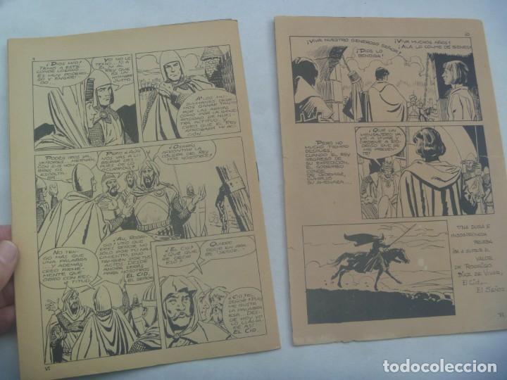 Tebeos: EL CID , Nº 6 . EDICIONES GALAOR 1966 - Foto 2 - 240476555