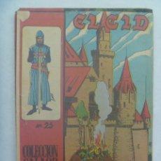 Tebeos: EL CID , Nº 21 . EDICIONES GALAOR 1966. Lote 240526225