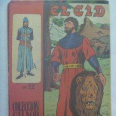 Tebeos: EL CID , Nº 22 . EDICIONES GALAOR 1966. Lote 240568585