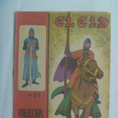 Tebeos: EL CID , Nº 24 . EDICIONES GALAOR 1966. Lote 240606140