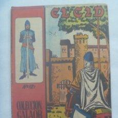 Tebeos: EL CID , Nº 12 . EDICIONES GALAOR 1966. Lote 240638055
