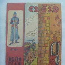 Tebeos: EL CID , Nº 13 . EDICIONES GALAOR 1966. Lote 240661515
