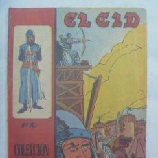 Tebeos: EL CID , Nº 14 . EDICIONES GALAOR 1966. Lote 240680765