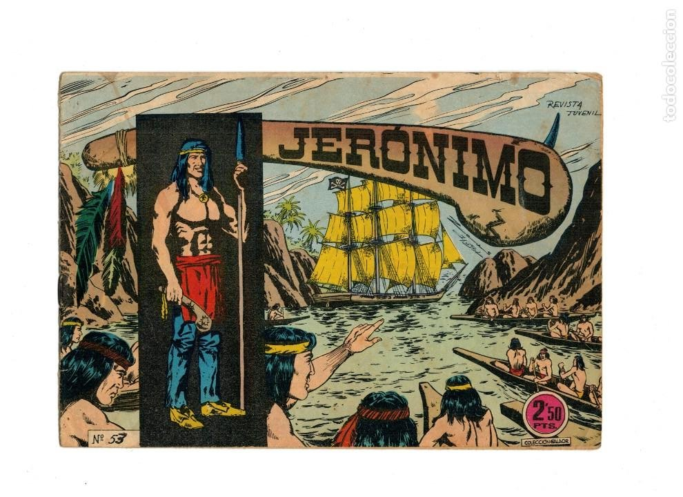 JERÓNIMO 53. GALAOR. ORIGINAL. -RESERVADO- (Tebeos y Comics - Galaor)