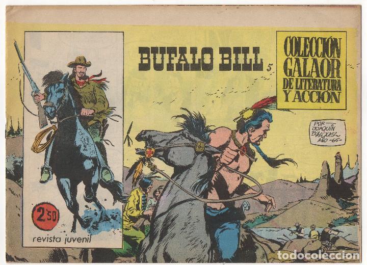 Tebeos: BUFALO BILL nº 5 (Galaor 1965), FLECHA ROJA nº 29 y 40 (Maga 1962) 3 tebeos. - Foto 2 - 243337495