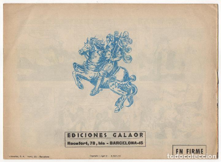 Tebeos: BUFALO BILL nº 5 (Galaor 1965), FLECHA ROJA nº 29 y 40 (Maga 1962) 3 tebeos. - Foto 3 - 243337495
