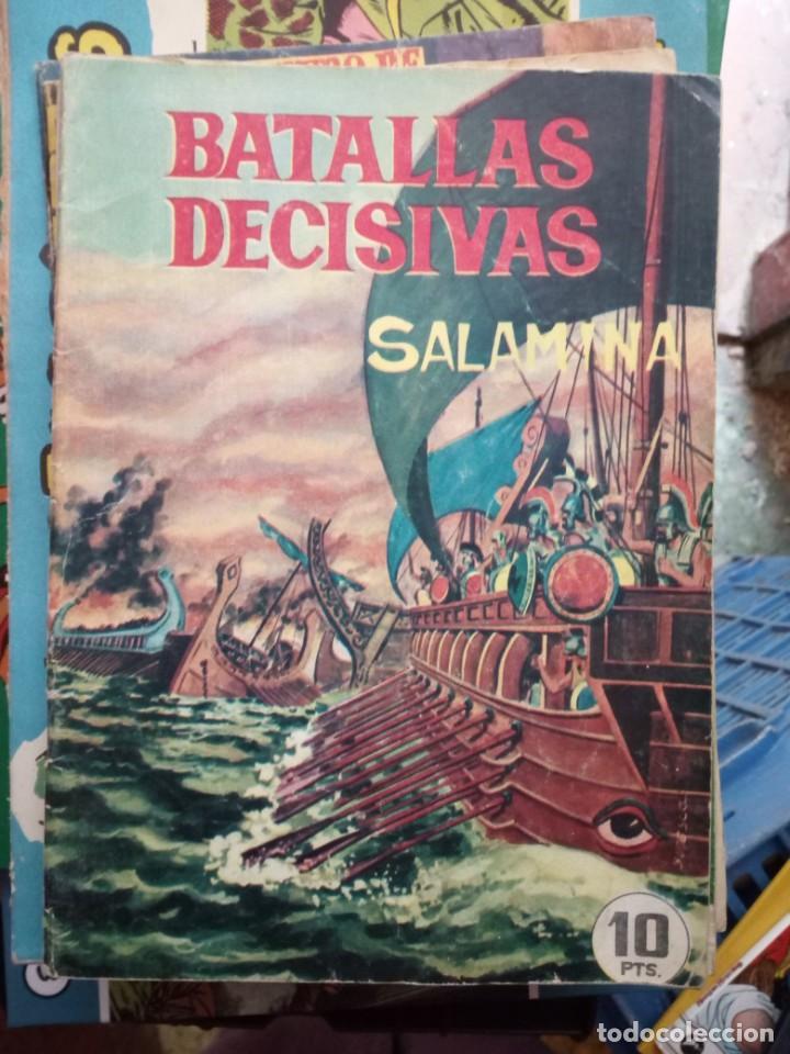 BATALLAS DECISIVAS. SALAMINA - CLAUDIO TINOCO (Tebeos y Comics - Galaor)