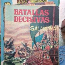 Giornalini: BATALLAS DECISIVAS. SALAMINA - CLAUDIO TINOCO. Lote 246211170
