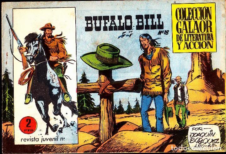 COMIC COLECCION BUFALO BILL Nº 18 EDITORIAL GALAOR (Tebeos y Comics - Galaor)
