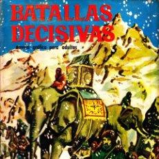 Livros de Banda Desenhada: COMIC NOVELA GRAFICA COLECCION BATALLAS DECISIVAS CANNAS EDITORIAL GALAOR. Lote 248748165