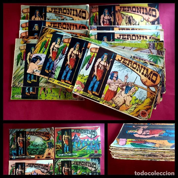 LOTE DE 28 JERONIMO -ORIGINAL -BUEN ESTADO-VER NUMERACION : 1,2,3,4....ETC (Tebeos y Comics - Galaor)