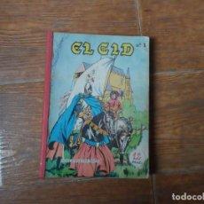 Tebeos: EL CID COLECCION COMPLETA GALAOR 5 NUMEROS. Lote 253918355