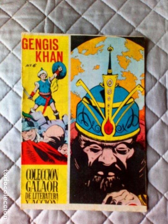 GENGIS KHAN Nº 6 ÚLTIMO DE LA COLECCIÓN GALAOR (Tebeos y Comics - Galaor)