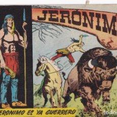 BDs: JERONIMO: NUMERO 2 JERONIMO ES YA GUERRERO, EDITORIAL GALAOR. Lote 258244670