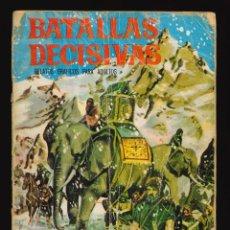 Livros de Banda Desenhada: BATALLAS DECISIVAS - GALAOR / SIN NUMERAR (CANNAS). Lote 263672805