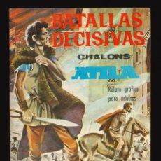 Livros de Banda Desenhada: BATALLAS DECISIVAS - GALAOR / SIN NUMERAR (CHALONS - ATILA). Lote 263683395