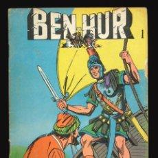 Livros de Banda Desenhada: BEN-HUR (NOVELA GRÁFICA) - GALAOR / NÚMERO 1. Lote 263684400