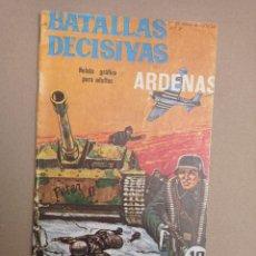 Tebeos: BATALLAS DECISIVAS, ARDENAS. Lote 264253768