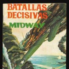 Tebeos: BATALLAS DECISIVAS - GALAOR / SIN NUMERAR (MIDWAY). Lote 264986414