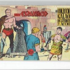 Livros de Banda Desenhada: * ESPARTACO * ED. GALAOR 1964 * ORIGINAL Nº 26 ESPECIAL PEDIDO *. Lote 265544689