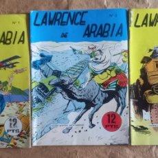 Tebeos: LAWRENCE DE ARABIA - GALAOR / COLECCIÓN COMPLETA. Lote 265709614