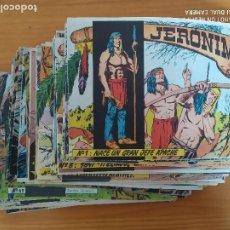 Tebeos: JERONIMO - CASI COMPLETA - Nº 1 A 65 A FALTA DE Nº 53 Y 56 - ORIGINAL - EDICIONES GALAOR (FK). Lote 265752839